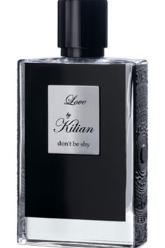 Love by Kilian By Kilian for women  - Top notes are neroli, bergamot, pink pepper and coriander  - Middle notes are iris, jasmine, rose, honeysuckle and orange blossom  - Base notes are musk, vanilla, civet, caramel, sugar and labdanum.