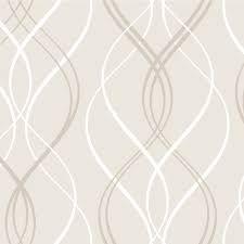 Resultado de imagem para papel de parede fundo branco e desenhos bege geometrico