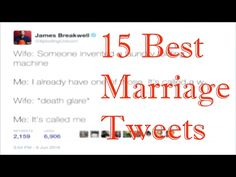 15 Best Marriage Tweets of 2016, Funniest Tweets Ever