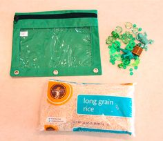 Holly's Arts and Crafts Corner: DIY: I Spy Bags and Discovery Bottle, Part 1