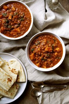 Lentil Vegetable Curry with Tomato + Coconut Milk | In Pursuit of More