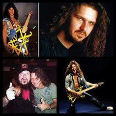 """It was 10 years ago today that Dimebag Darrell got shot and killed while on stage. Dimebag was buried with Eddie Van Halen's infamous #Bumblebee Guitar."