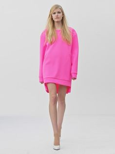 Perfect SweatShirt Dress -   ORGANIC by John Patrick