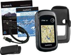 Garmin eTrex 30 TOPO GPS Bundle 100K Topographic Card Carry Case BirdsEye Belt Clip * Click image for more details. #NavigationandElectronics