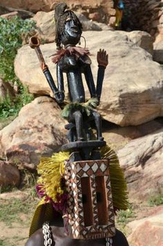 Dogon Tribe | dogon tribe africa | Natural Wonders: Dogon Dances of Dogon People ...