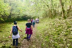 A group walk around Hartington in the Peak District after a morning of boxing and yoga classes!
