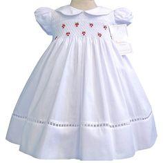 Girls elegant white dress