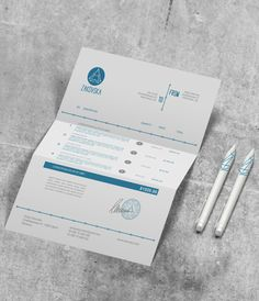Invoice Design  Examples To Inspire You  Invoice Design