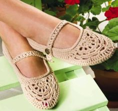 Crochet Slip-Ons PDF Pattern