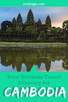 Are you planning to do a #trip to #Cambodia? But you are not sure what to see? Here, you can find the Ultimative Cambodia #Itinerary to see the country and fall in love with it the same way that we did on our #Southeastasia trip.