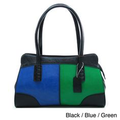 @Overstock - This vibrant shoulder bag from Dasein stands out with bold colorblocking and retro style. Lengthy shoulder straps give you extra room to sport this bag, while the lined interior contains several spacious pockets.http://www.overstock.com/Clothing-Shoes/Dasein-Retro-Colorblock-Shoulder-Bag/7883869/product.html?CID=214117 $46.99