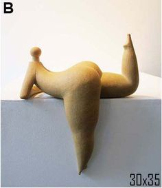 nude sculpture - Naked Ceramic fat woman Sculpture art Ceramic Chubby Sculpture