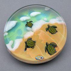 Light Opera - paperweights - art glass, paperweights, vases, kaleidoscopes :  art home glass paperweights