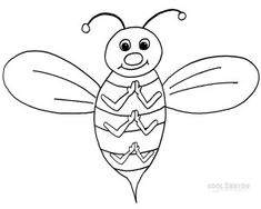Pictures Of Bumble Bee Coloring Pages