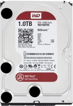 WESTERN DIGITAL WD10EFRX 1TB RED NAS SATA3 - ΣΚΛΗΡΟΣ ΔΙΣΚΟΣ -