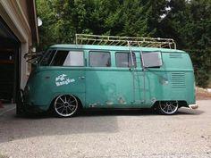 Low eleven window vw bus