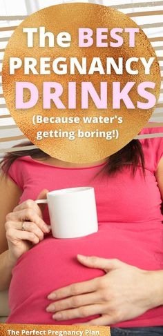Drinking enough water during pregnancy is super important. But drinking so much water during pregnancy can get boring. There are lots of safe pregnancy drinks, healthy drinks for pregnancy that help to grow a healthy baby! Healthy drinks for pregnant women. Healthy drinks for pregnancy for mom and baby.