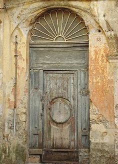 fanlight on old doorway