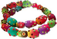 Beads that speak for themselves by Silvia Ortiz de la Torre