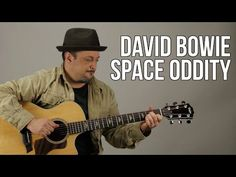 "How to Play ""Space Oddity"" by David Bowie on guitar - Acoustic - YouTube"