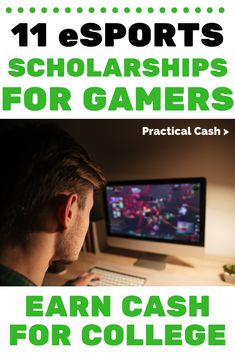 Get Paid to Play! 11 eSports Scholarships for Video Gamers to Get Paid to Go to College Grants For College, College List, Financial Aid For College, Saving For College, Online College, College Hacks, Scholarships For College, Education College, Rotc