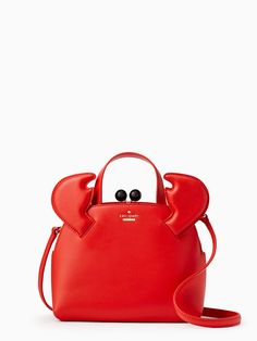shore thing small crab lottie - kate spade new york