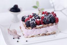 5. Кешьюкейк с ягодами
