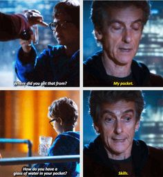 Skills. The Return of Doctor Mysterio.