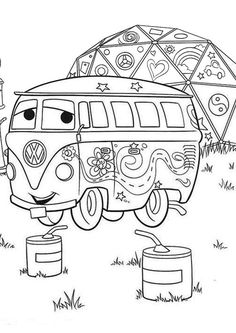 10 Funny Disney Cars Coloring Pages For Your Little Ones