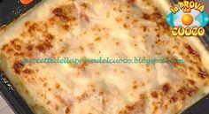 Parmigiana di patate con stracchino e mortadella ricetta Anna Moroni