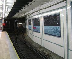 estacion de subterraneo, buenos aires , argentina