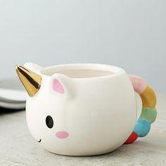 Cartoon Unicorn Mug Ceramic Unicorn Coffee Cup Children Girl Boy Cute Creative Unicorn Mug Gift 2 Color