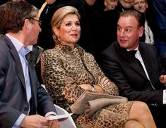 """On November 22, 2016, Queen Máxima of The Netherlands visits the Roessing Research and Development Centre and """"Digital Workshop"""" at the Hangar 11 of Airport Twente in Enschede."""
