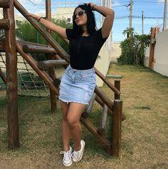 "4,851 Likes, 41 Comments - Simples Vaidade™  470k  (@simplesvaidade) on Instagram: ""Look do dia  #simplesvaidade #sv ▫ #estilo #lookbook #lookoftheday #blusas #girlfashion #jeans…"""