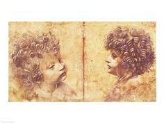 Study of a child's head