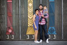 Family photo session in Downtown Albuquerque, New Mexico. Matt Blasing Photography. Albuquerque based photographer. www.mattblasing.com