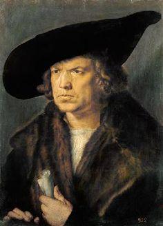 Albrecht Dürer - portrait d'un homme. ۞۞۞۞۞۞۞۞۞۞۞۞۞۞ Gaby-Féerie : ses bijoux à thèmes ➜ http://www.alittlemarket.com/boutique/gaby_feerie-132444.html ۞۞۞۞۞۞۞۞۞۞۞۞۞۞