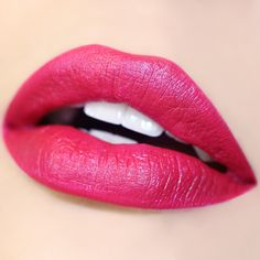 Rabbit, an Ultra Satin Lipcolor from Colourpop- A bright fuchsia with a subtle blue sheen – batteries not included.