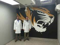 Doctors are excited about their new surgery suite just finished the mural...total rebuild of hospital should be done in a few weeks.