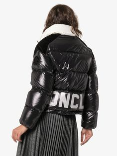 Moncler Chouelle Quilted Puffer Jacket | Browns Moncler, Puffer Jackets, Winter Jackets, Working Overtime, Browning Logo, Bag Sale, Luxury Lifestyle, Stretch Fabric, Sportswear