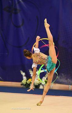 Arina AVERINA (Russia) ~ Ribbon @ Russian National Championship 2017 @ Penza Photographer Oleg Naumov.
