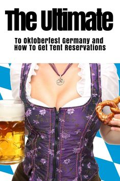 "Oktoberfest is the world's largest beer festival and traveling funfair a ""Volksfest."" Want to know how to get in? Want to know how to get a table reservation? Want to know what to wear? This is The Ultimate Guide To Oktoberfest that covers everything you need to know! #Oktoberfest #OktoberfestGermany #OktoberfestMunich #OktoberfestBavaria #GermanOktoberfest #GermanyOktoberfest #BavarianOktoberfest #Britonthemove #Oktoberfestreservations #Oktoberfestbeertents"