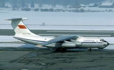 Aeroflot Ilyushin IL76 freighter at Sheremetyevo SVO