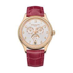 Patek Philippe Ladies Annual Calendar Ref 4947 Diamonds Rose Gold 4947R-001