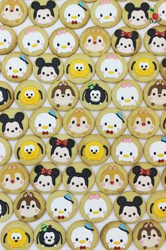 Mickey & Friends Disney Tsum Tsum Cookies