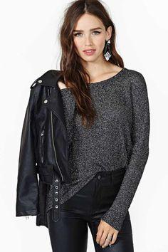Star Dance Knit Top