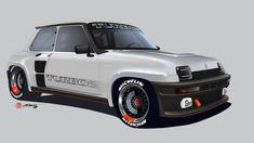 Alan Derosier - Renault5 T2R Project