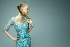 Vera in Stewart Parvin SS12 couture.