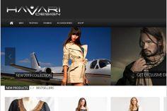 Havari Design- Brochure type website