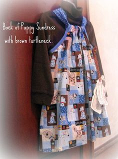 Cute dress with  knit top by janeylaughs on Etsy, $34.00